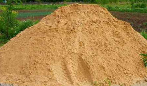 Песок на дачу